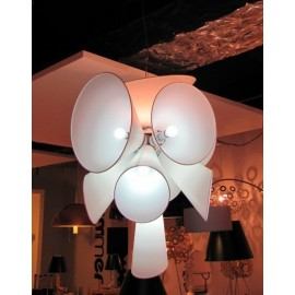 Nebula pendant lamp Flos white color with detail