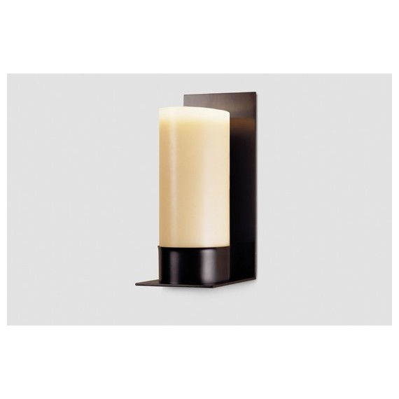 Rum wall lamp Kevin Reilly Lighting white color front view