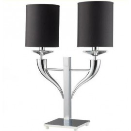 Loving arms table lamp Ilfari black color front view