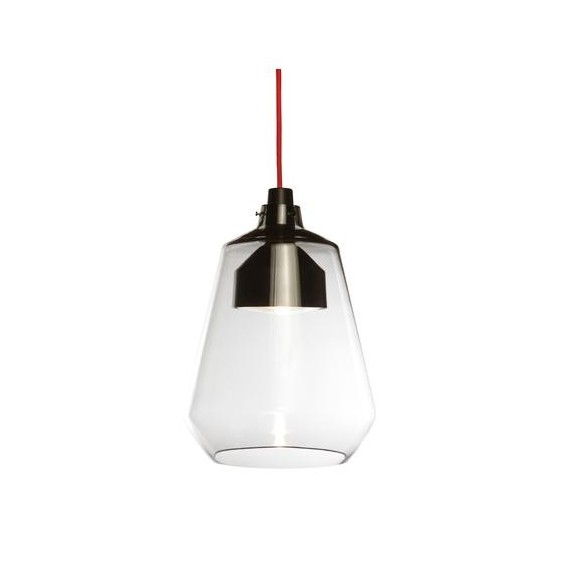 Friday pendant lamp Anthologie quartett transparent color front view