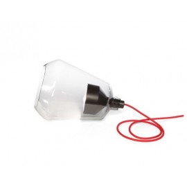 Friday pendant lamp Anthologie quartett transparent color side view