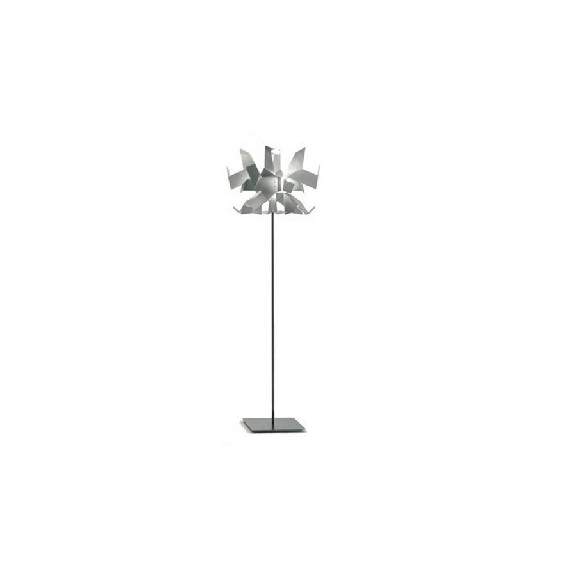 Glow floor lamp Pallucco white color front view