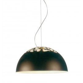 Magica pendant lamp Disegnoluce black color S front view