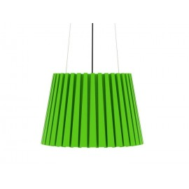 Tank pendant lamp Established and sons green color front view