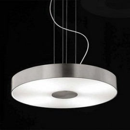 Apollonia 1 pendant lamp Movelight silver color front view