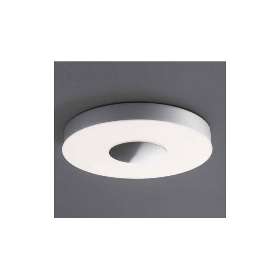 Apollonia 1 ceiling lamp Movelight silver color front view