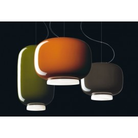 Chouchin 3 pendant lamp Foscarini grey color with detail