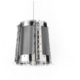 Lola pendant lamp Brand van Egmond silver color front view