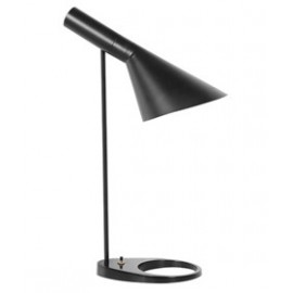 Arne Jacobsen table lamp Louis Poulsen black color front view