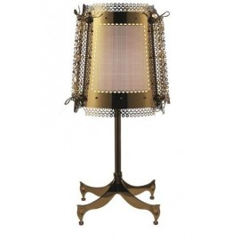 Lola table lamp Brand van Egmond gold color front view