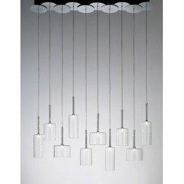 Spillray pendant lamp 10 lights