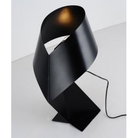 Air table lamp LZF black color front view