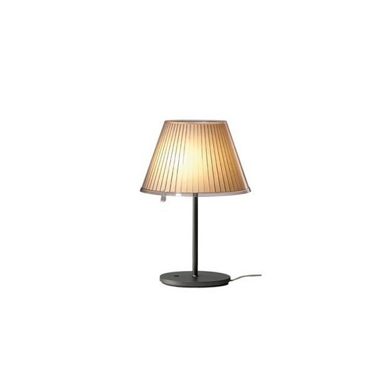 Choose table lamp Artemide light yellow color
