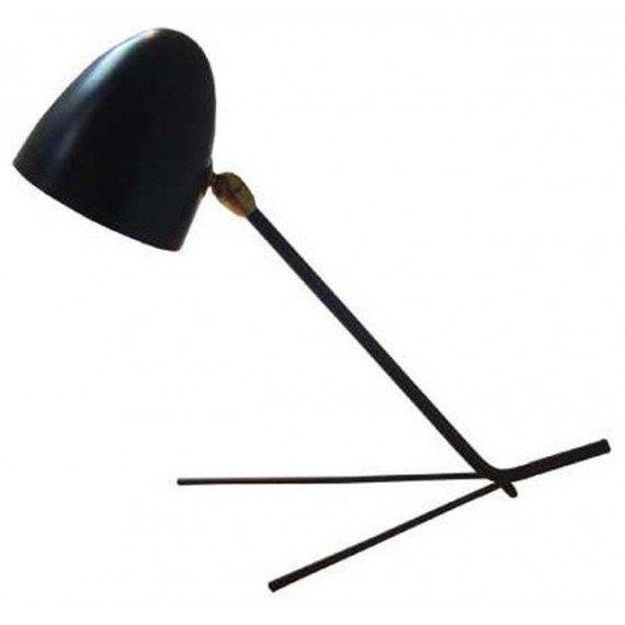 Cocotte table lamp Marset black color front view