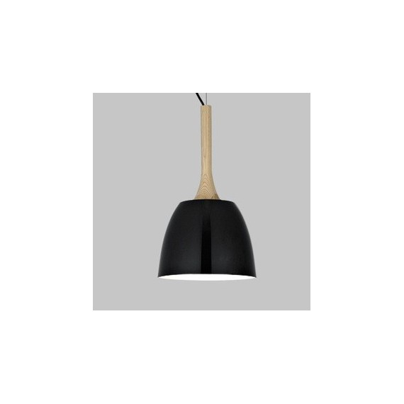 Sombrero pendant lamp Foscarini black color Diam 22cm front view