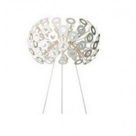 Dandelion table lamp Moooi silver color front view