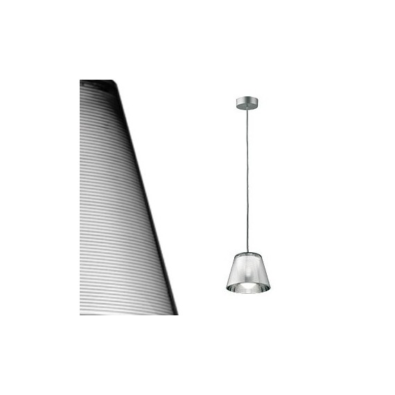 Romeo babe pendant lamp Flos silver color with detail
