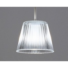 Romeo babe pendant lamp Flos silver color front view