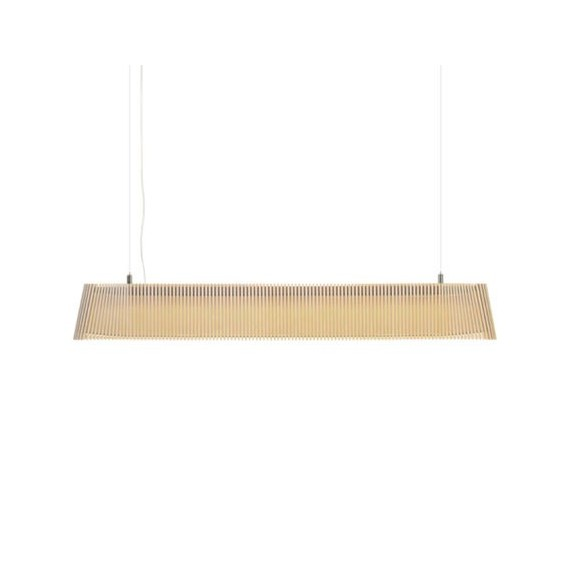 Secto OWALO 7000 pendant lamp Secto Design natural color front view