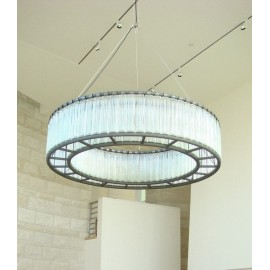 Estadio chandelier Santa & Cole Diam 100cm front view