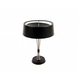 Mile table lamp Delightfull black color front view