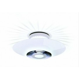 Moni ceiling lamp Flos white color front view