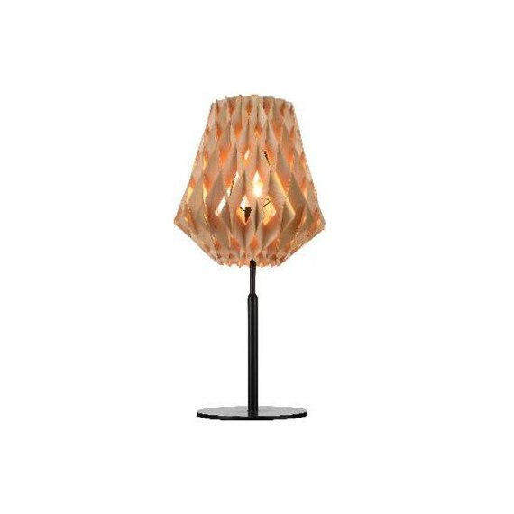 Pilke table lamp Showroom Finland Oy natural color front view