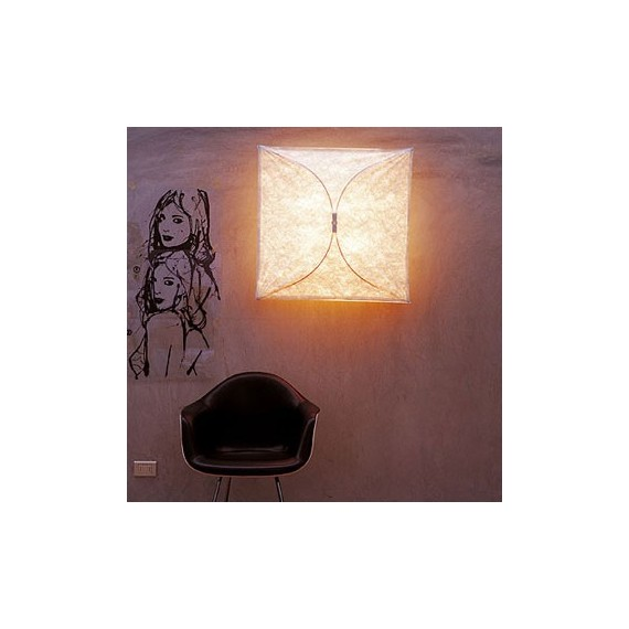 Ariette ceiling/wall lamp Flos white color S
