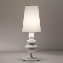 Joséphine Mini M table lamp Metalarte white color front view
