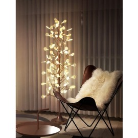 Heracleum LED floor lamp Moooi copper color back view