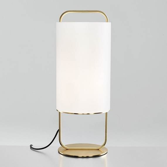ALISTAIR table lamp Parachilna gold color front view