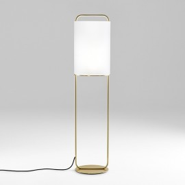 ALISTAIR floor lamp Parachilna gold color front view