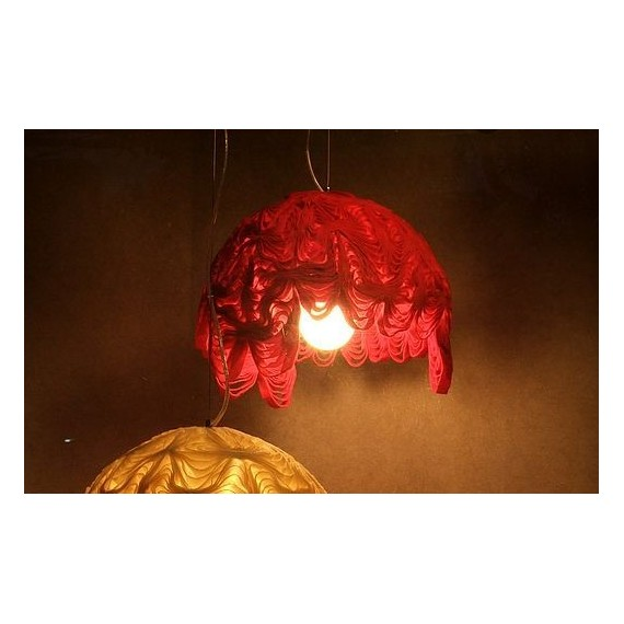 Marble pendant lamp Innermost red color side view