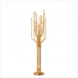 JANIS floor lamp Delightfull gold color front view