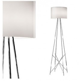Ray F1/F2 floor lamp Flos white color with detail