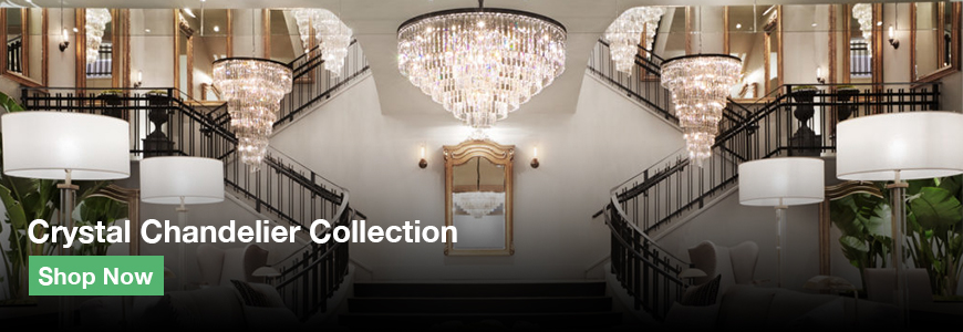 RH chandelier collection