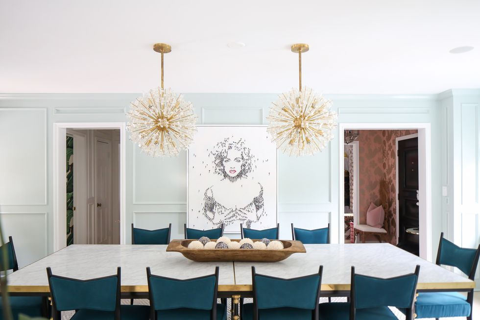 The Perfect Height for Your Dining Room Chandelier 1