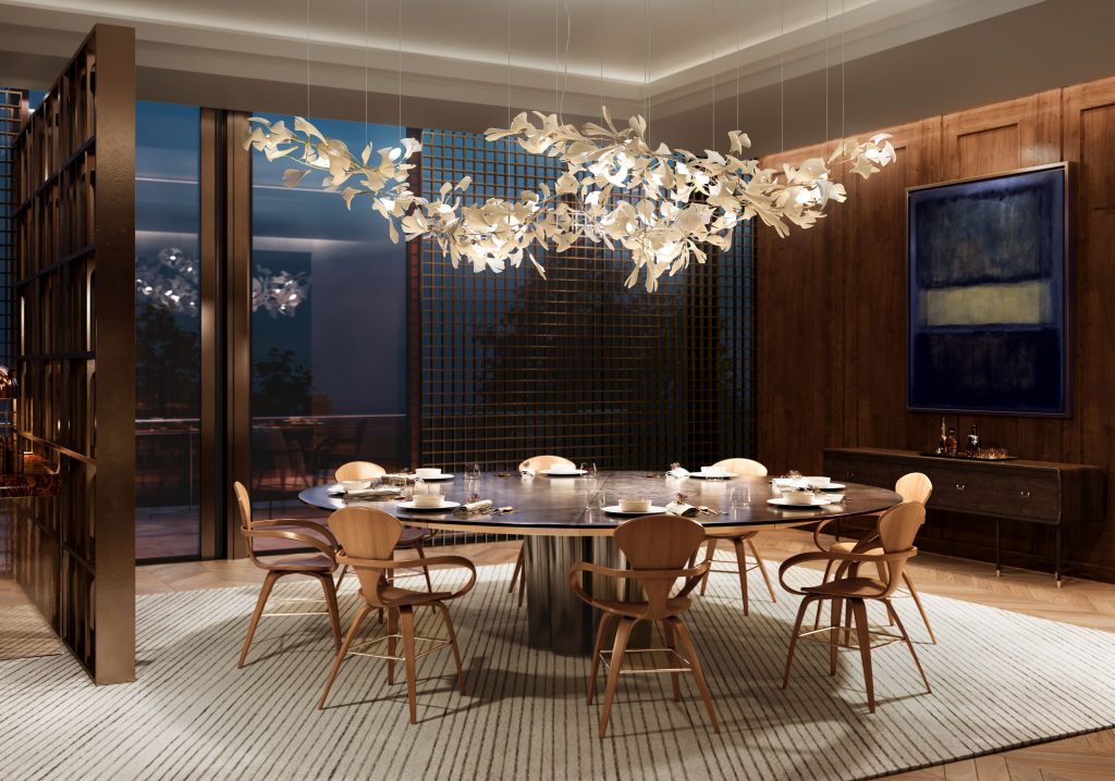 The Perfect Height for Your Dining Room Chandelier 2