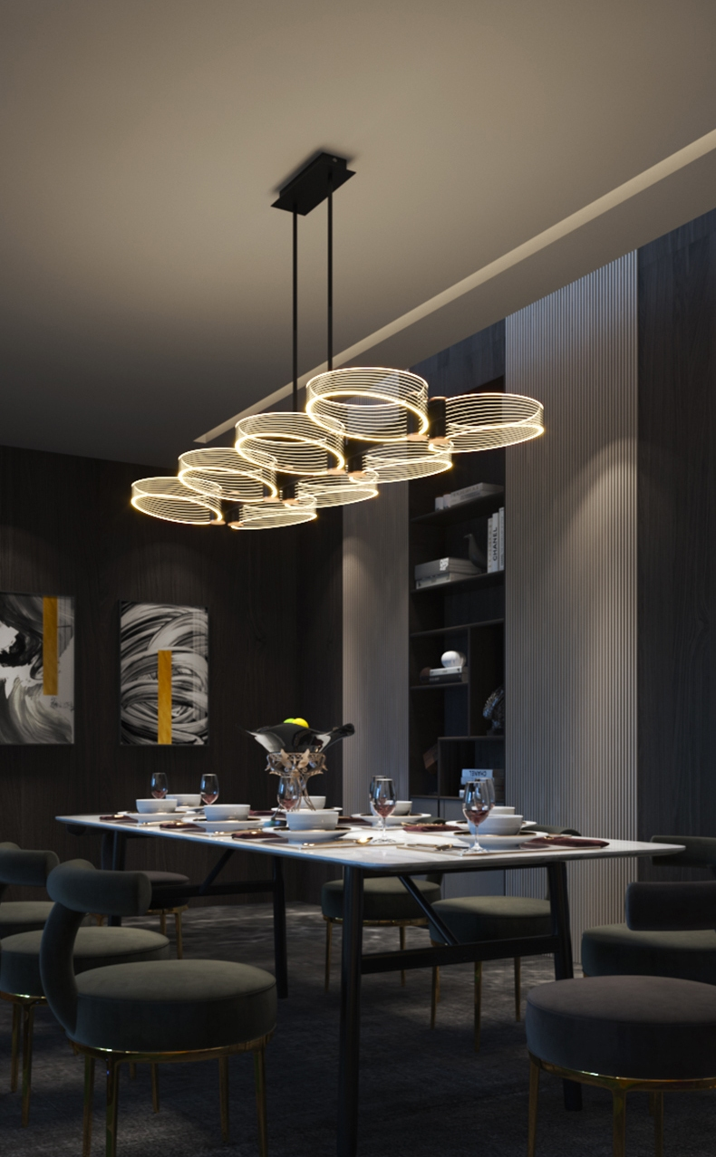 The Perfect Height for Your Dining Room Chandelier 3