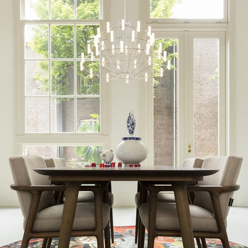 The Perfect Height for Your Dining Room Chandelier 4