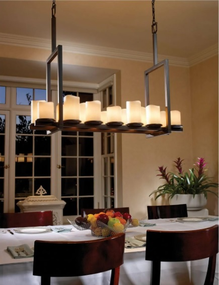 The Perfect Height for Your Dining Room Chandelier 5