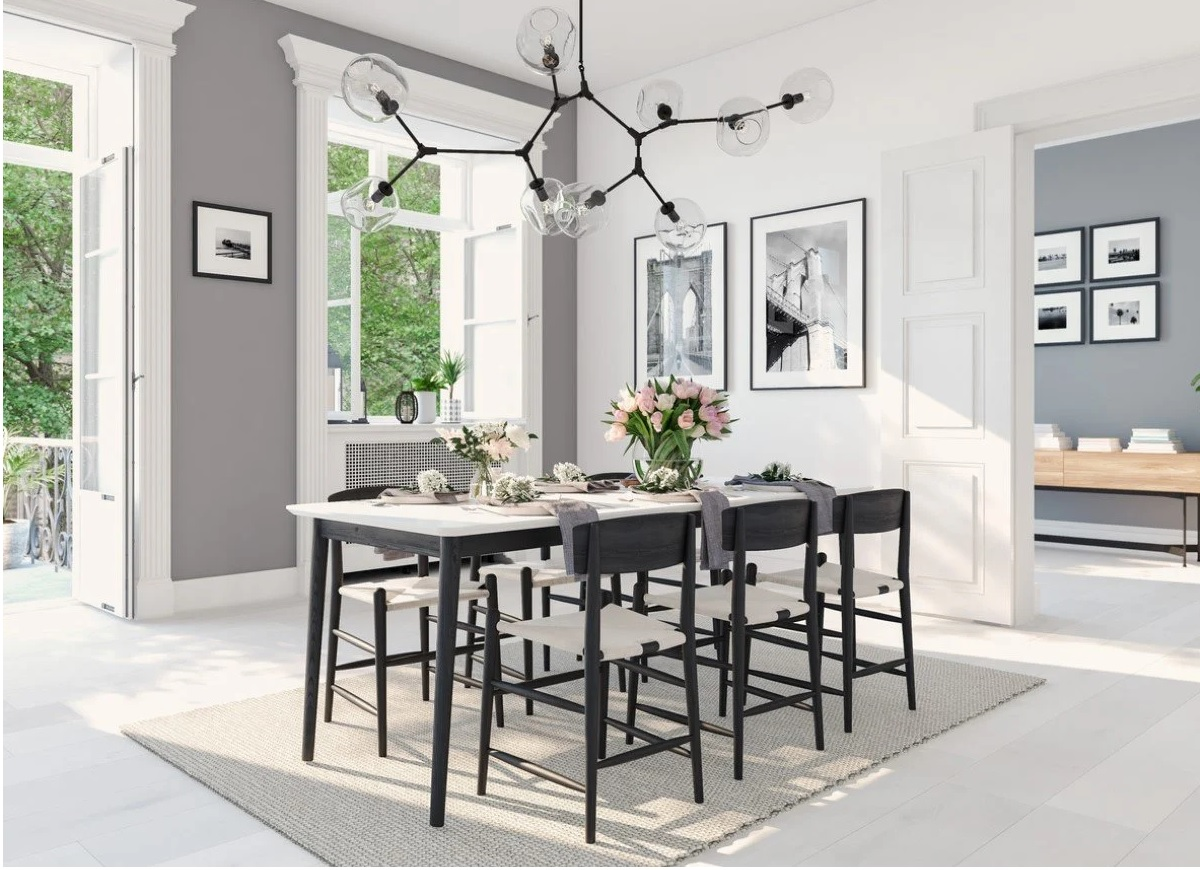 The Perfect Height for Your Dining Room Chandelier 8