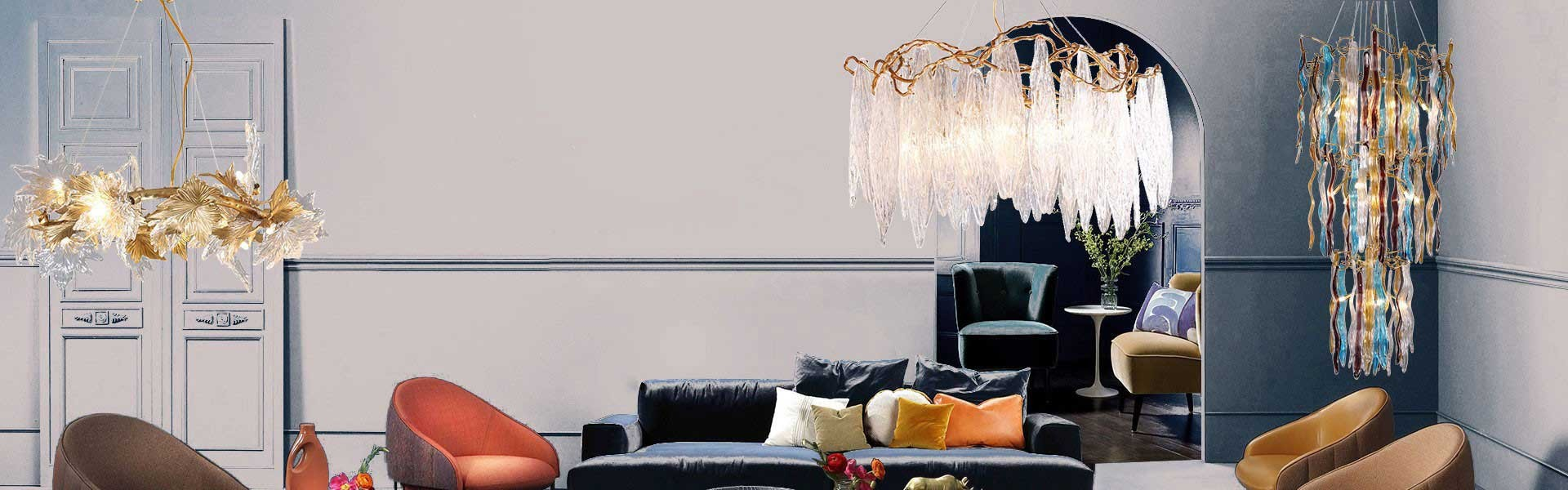 Luxury crystal chandelier collection